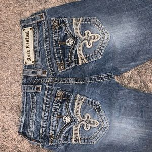 ROCK REVIVAL SIZE 25 JEANS